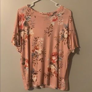 Sweet Claire Brand Boutique Floral Top